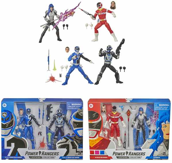 VORBESTELLUNG ! Power Rangers Lightning Collection Battle Pack Wave 1 6 Inch Actionfiguren Set