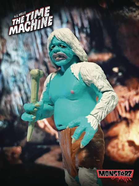 TIME MACHINE CAVE BATTLE MORLOCK 10 cm RETRO ACTIONFIGUR