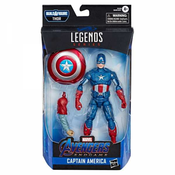AVENGERS 4 LEGENDS CAPTAIN AMERICA 15 cm ACTIONFIGUR