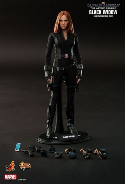 HOT TOYS BLACK WIDOW CAPTAIN AMERICA: THE WINTER SOLDIER ACTIONFIGUR