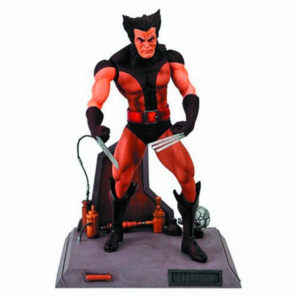 MARVEL SELECT BROWN WOLVERINE UNMASKED ACTIONFIGUR