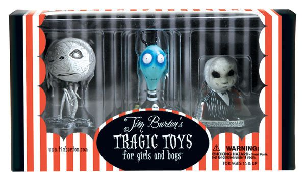 TIM BURTON TOXIC BOY PVC SET