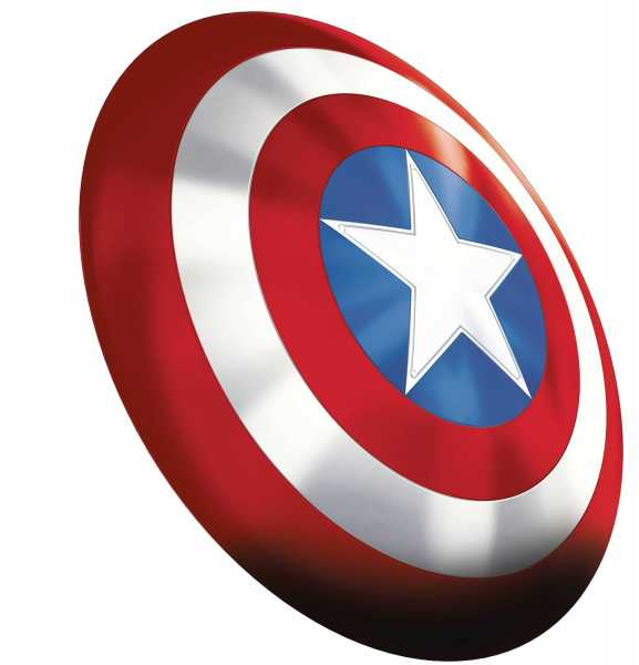 AVENGERS LEGENDS GEAR 80TH ANN CAPTAIN AMERICA SHIELD