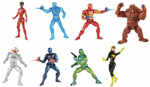 VORBESTELLUNG ! Comic Iron Man Marvel Legends 6 Inch Actionfiguren Komplett-Set