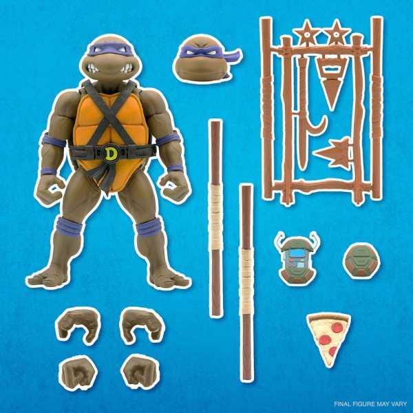 VORBESTELLUNG ! Teenage Mutant Ninja Turtles Ultimates Donatello 18 cm Actionfigur