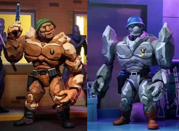 VORBESTELLUNG ! Teenage Mutant Ninja Turtles Tragg & Grannitor18 cm Actionfiguren 2-Pack