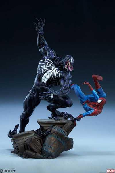 VORBESTELLUNG ! Marvel Spider-Man vs Venom 56 cm Maquette
