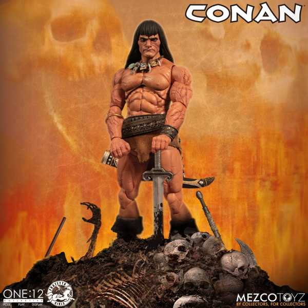 VORBESTELLUNG ! ONE-12 COLLECTIVE CONAN THE BARBARIAN ACTIONFIGUR