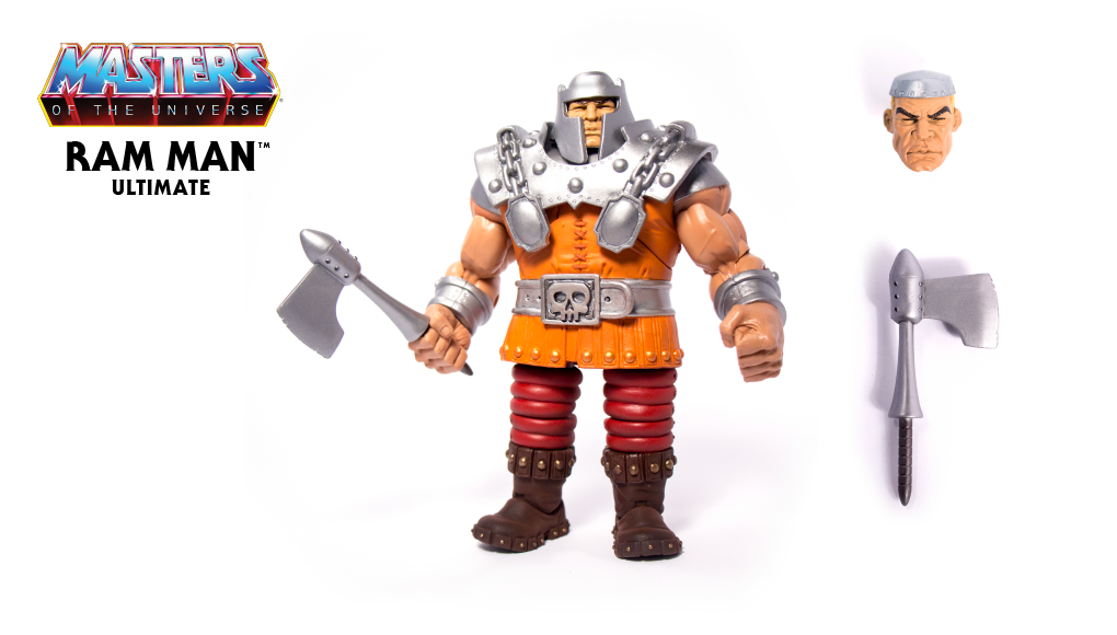 Masters Of The Universe Ultimate Ram Man Actionfigur