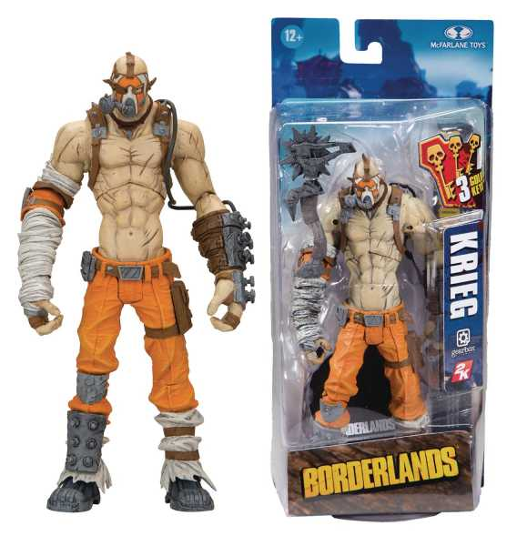 BORDERLANDS KRIEG 17,5 cm ACTIONFIGUR