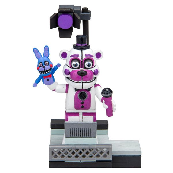 FIVE NIGHTS AT FREDDYS FUNTIME FREDDY WITH STAGE RIGHT BAUSATZ