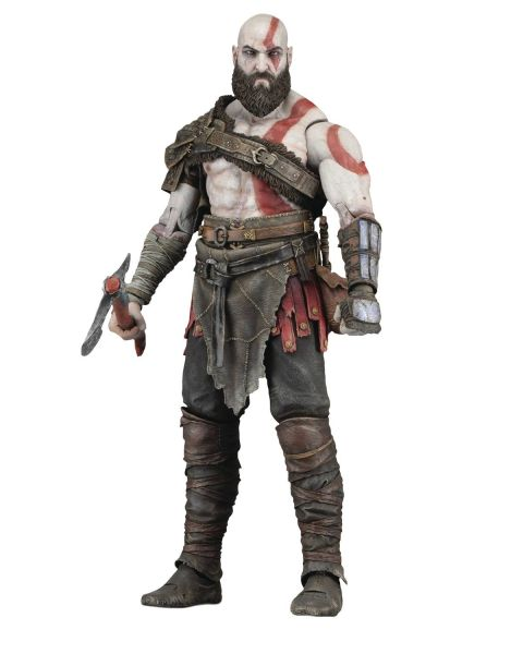 GOD OF WAR 2018 KRATOS 17,5 cm SCALE ACTIONFIGUR
