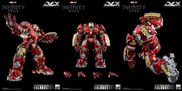 VORBESTELLUNG ! Infinity Saga 1/12 Iron Man Mark 44 Hulkbuster 30 cm DLX Actionfigur