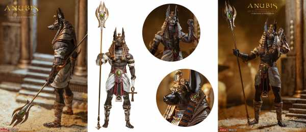 Anubis Guardian of the Underworld 1:12 Scale Actionfigur