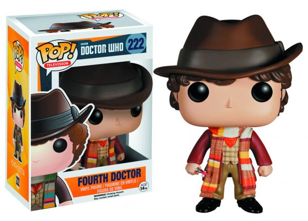 POP DOCTOR WHO 4TH DOCTOR VINYL FIGUR