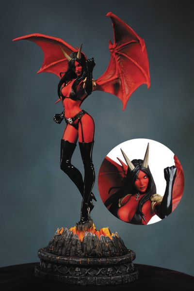 WOMEN OF DYNAMITE PURGATORI STATUE ARTIST PROOF