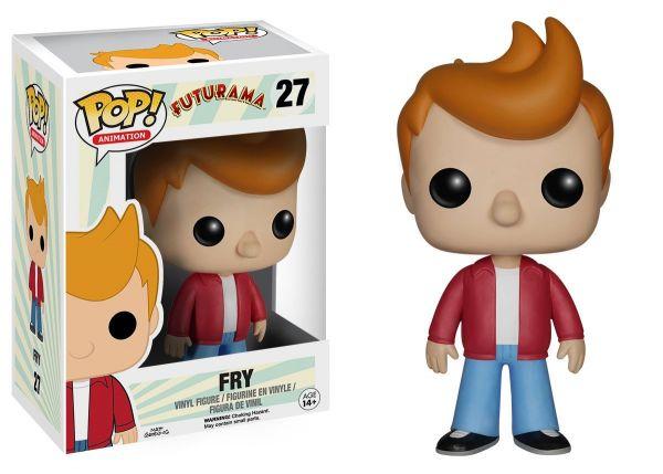 POP FUTURAMA FRY VINYL FIGUR defekte Verpackung