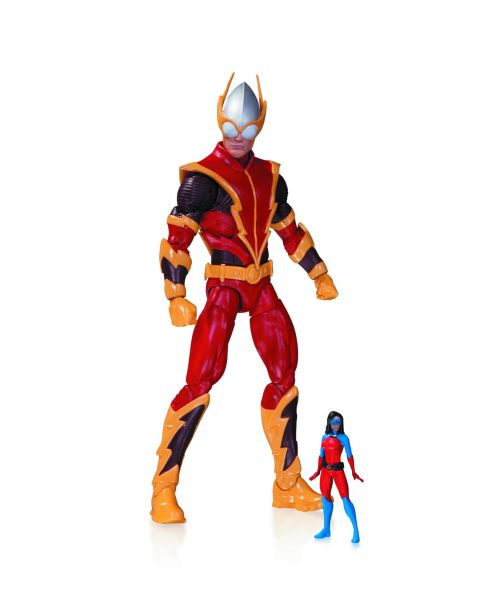 DC COMICS SUPER VILLAINS JOHNNY QUICK & ATOMICA ACTIONFIGUR