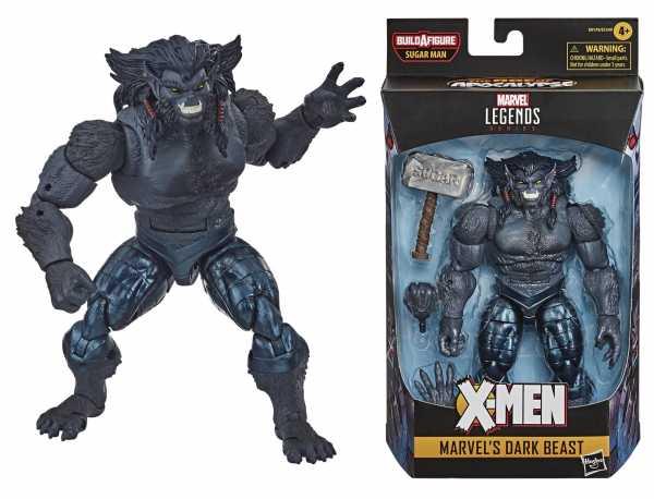 X-Men: Age of Apocalypse Marvel Legends Dark Beast 6 Inch Actionfigur