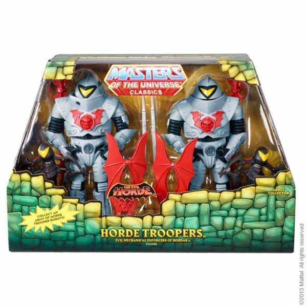 MASTERS OF THE UNIVERSE HORDE TROOPERS