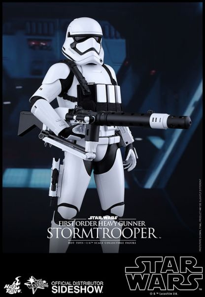Hot Toys Star Wars The Force Awakens 1/6 First Order Heavy Gunner Stormtrooper 30 cm Actionfigur