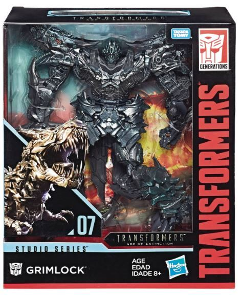 TRANSFORMERS GENERATIONS STUDIO SERIES LEADER CLASS GRIMLOCK ACTIONFIGUR