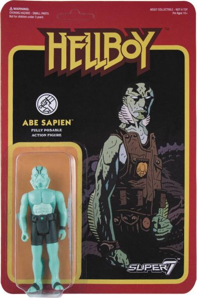 REACTION HELLBOY ABE SAPIEN ACTIONFIGUR WAVE 1