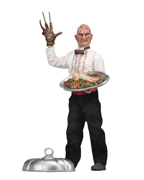 NIGHTMARE ON ELM STREET CHEF FREDDY 20 cm RETRO ACTIONFIGUR