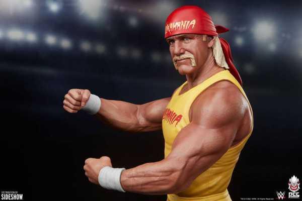 AUF ANFRAGE ! WWE 1/4 Hulkamania Hulk Hogan 62 cm Statue