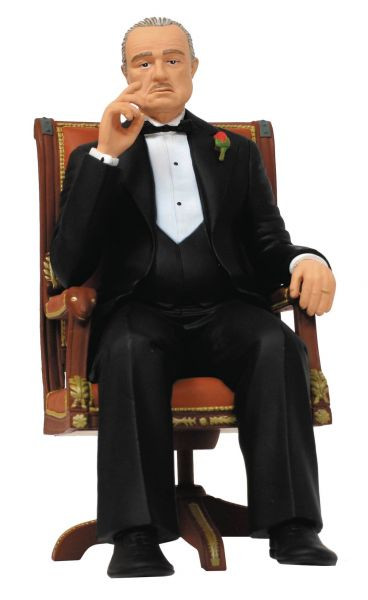 MOVIE ICONS THE GODFATHER VITO CORLEONE 17,5cm FIGUR