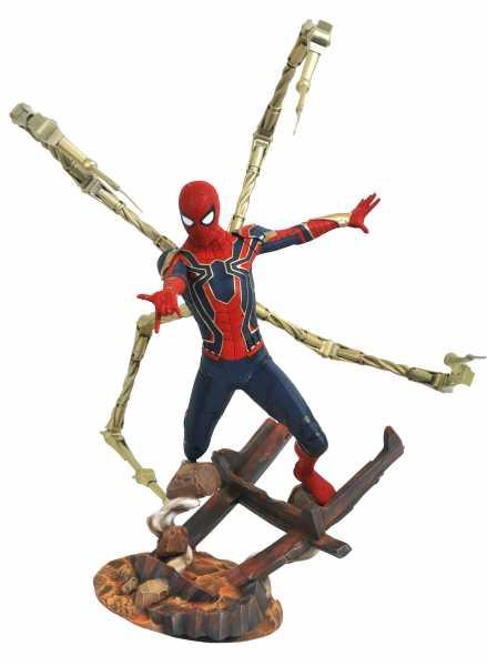 MARVEL PREMIER AVENGERS 3 IRON SPIDER-MAN STATUE