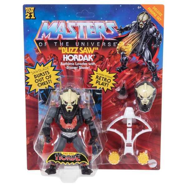 VORBESTELLUNG ! Masters of the Universe Origins Deluxe Buzz Saw Hordak Actionfigur