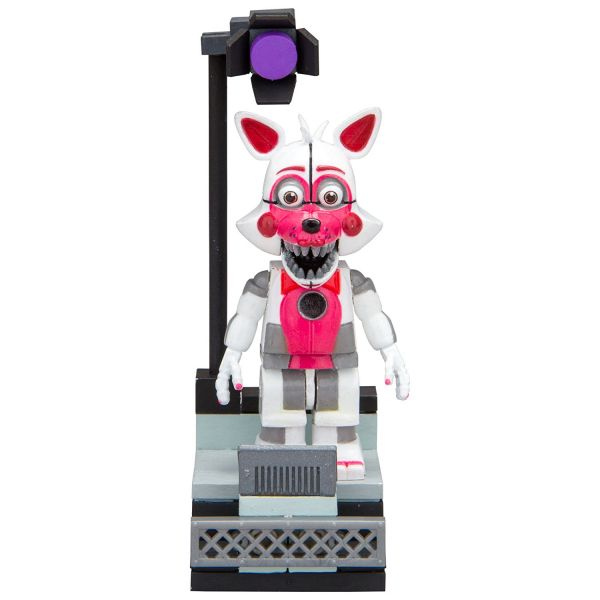 FIVE NIGHTS AT FREDDYS FUNTIME FOXY WITH STAGE LEFT BAUSATZ
