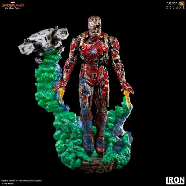 Spider-Man: Far From Home 1/10 Iron Man Illusion 21 cm BDS Art Scale Deluxe Statue