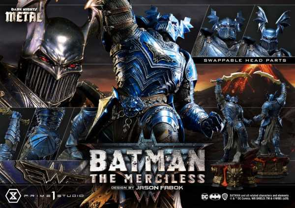 VORBESTELLUNG ! Dark Nights: Metal The Merciless 112 cm Statue