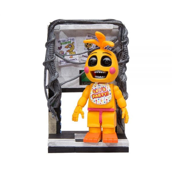 FIVE NIGHTS AT FREDDYS TOY CHICA WITH RIGHT AIR VENT BAUSATZ