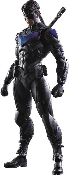BATMAN ARKHAM KNIGHT PLAY ARTS KAI NIGHTWING ACTIONFIGUR