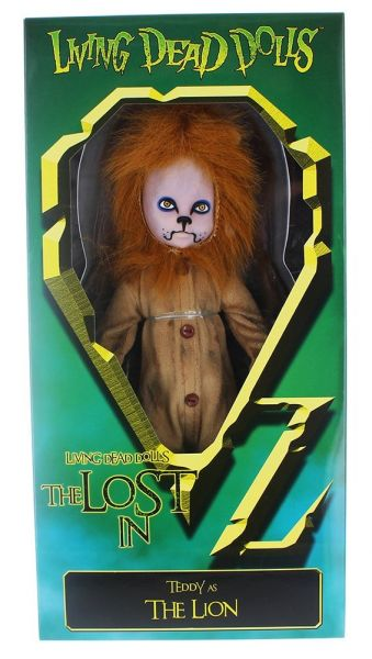 LIVING DEAD DOLLS IN OZ THE LION PUPPE