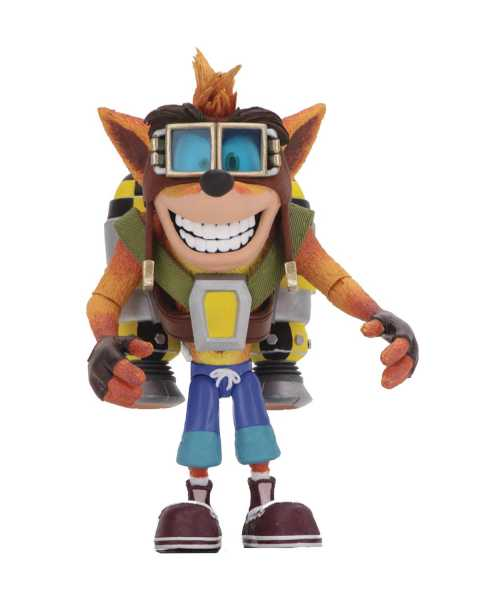 CRASH BANDICOOT CRASH WITH JETPACK DELUXE ACTIONFIGUR