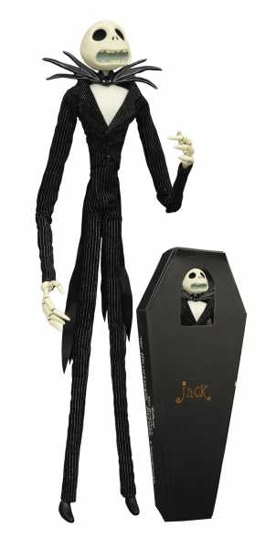 NIGHTMARE BEFORE CHRISTMAS JACK UNLIMITED COFFIN PUPPE