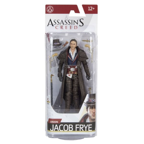 ASSASSINS CREED SERIE 5 UNION JACOB FRYE ACTIONFIGUR