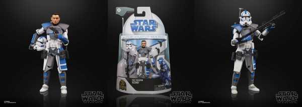 VORBESTELLUNG ! Star Wars Clone Wars Black Series Lucasfilm 50th Ann. Arc Trooper Echo Actionfigur