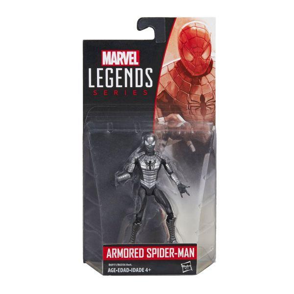 MARVEL LEGENDS SERIES ARMORED SPIDER-MAN 10cm ACTIONFIGUR