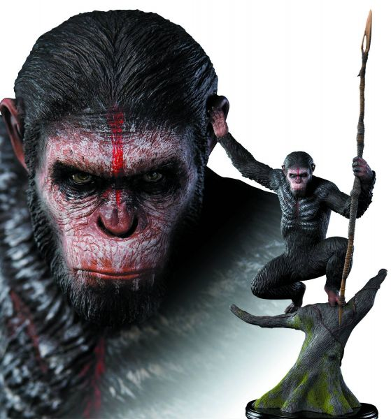 PLANET OF THE APES CAESAR 1/4 SCALE STATUE