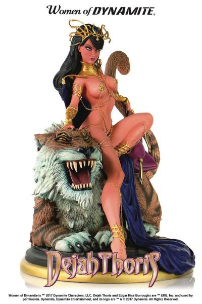 WOMEN OF DYNAMITE DEJAH THORIS CAMPBELL STATUE