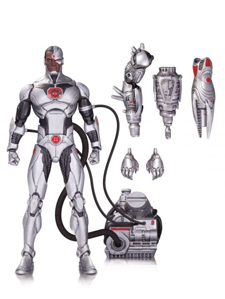 DC ICONS CYBORG DELUXE ACTIONFIGUR