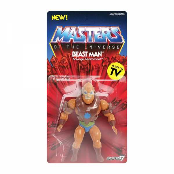 MASTERS OF THE UNIVERSE VINTAGE WAVE 2 BEAST MAN