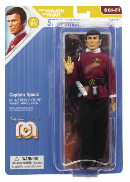 MEGO SCI-FI WAVE 7 STAR TREK 2 MOVIE CAPTAIN SPOCK 20 cm ACTIONFIGUR