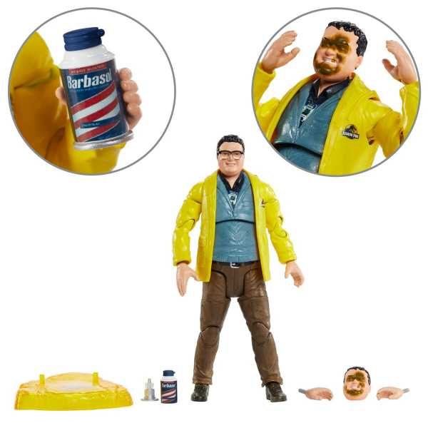 Jurassic Park Dennis Nedry 6-Inch Scale Amber Collection Actionfigur