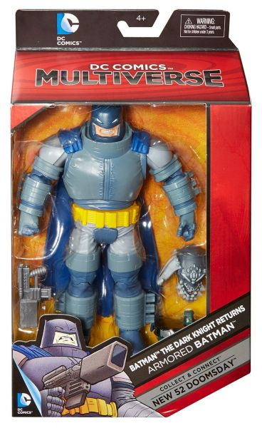 DC MULTIVERSE 15cm DARK KNIGHT RETURNS ARMORED BATMAN ACTIONFIGUR